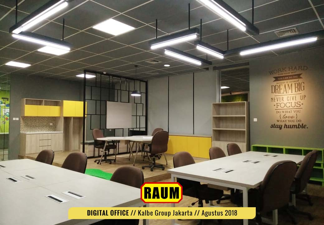 01 Digital Office Kalbe Group by interior asri