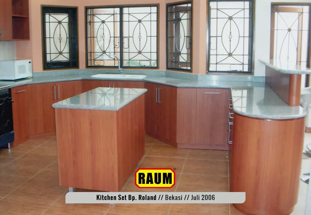 01 Kitchen Set Bekasi Taman Century - Bp. Roland Juli 2006 - Interior Asri