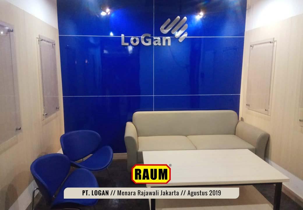 01 PT. LOGAN by Interior Asri - Menara Rajawali Kuningan Jakarta - Agustus 2019