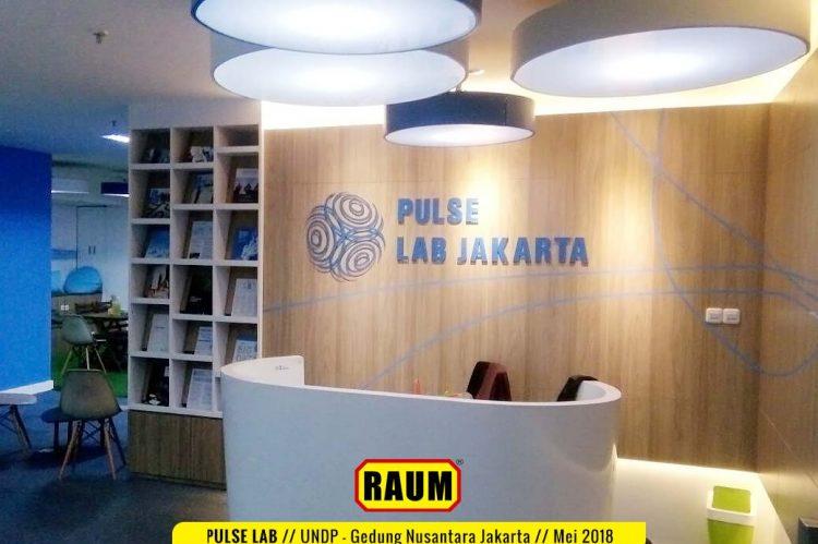 01 Pulse Lab UNDP - Gedung Nusantara Jakarta - Mei 2018 Interior Asri