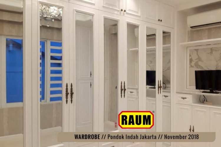 01 Wardrobe Pondok Indah by interior asri -November 2018
