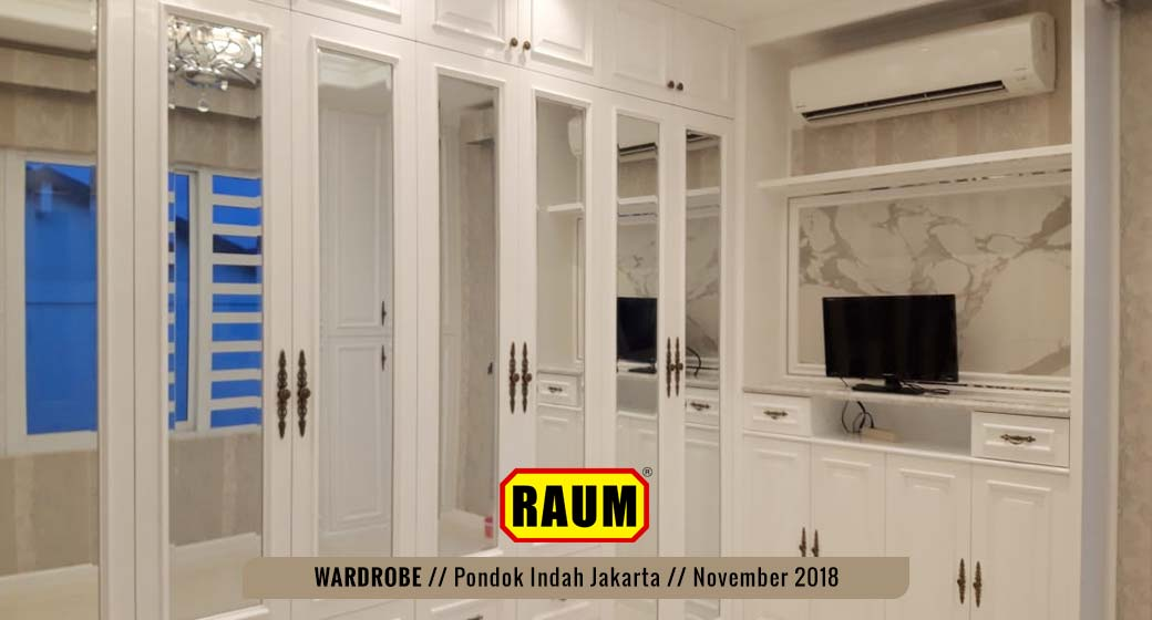 01 Wardrobe Pondok Indah by interior asri -November 2018