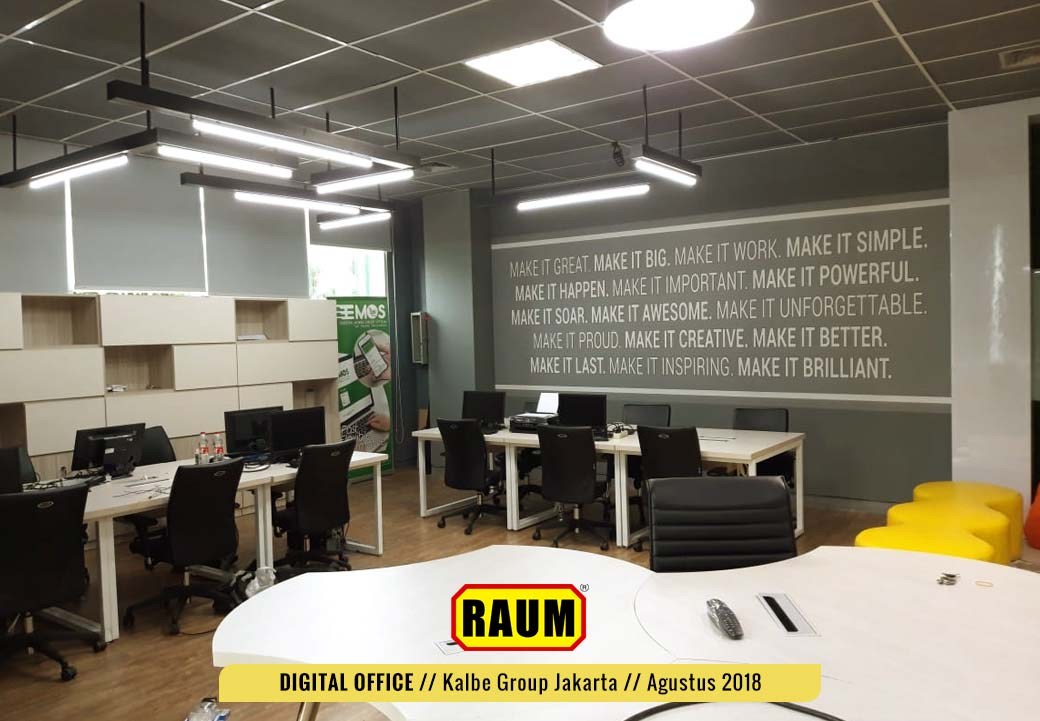 03 Digital Office Kalbe Group by interior asri