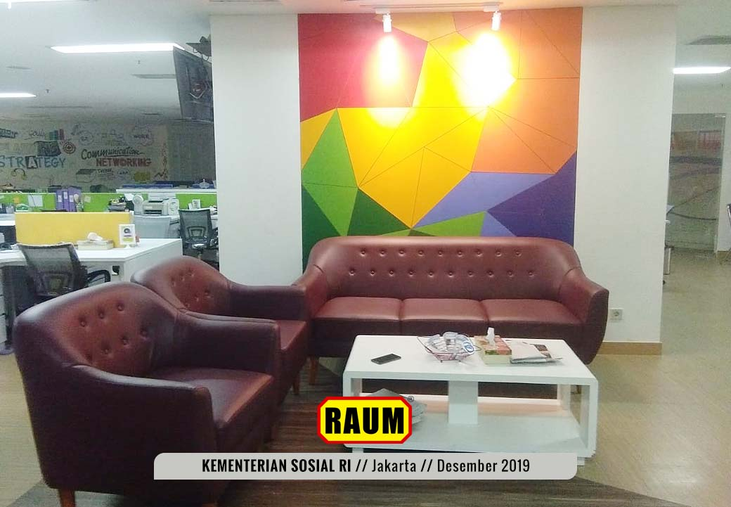03 Kementerian Sosial Republik Indonesia Jakarta by Interior Asri - Desember 2019