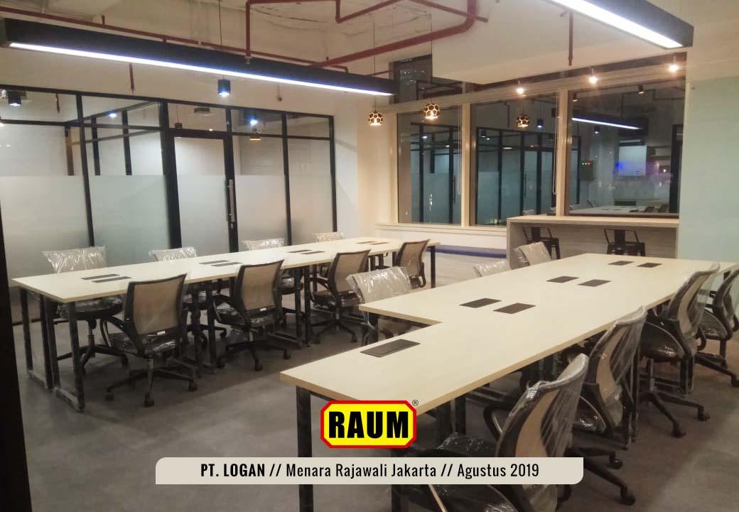 03 PT. LOGAN by Interior Asri - Menara Rajawali Kuningan Jakarta - Agustus 2019
