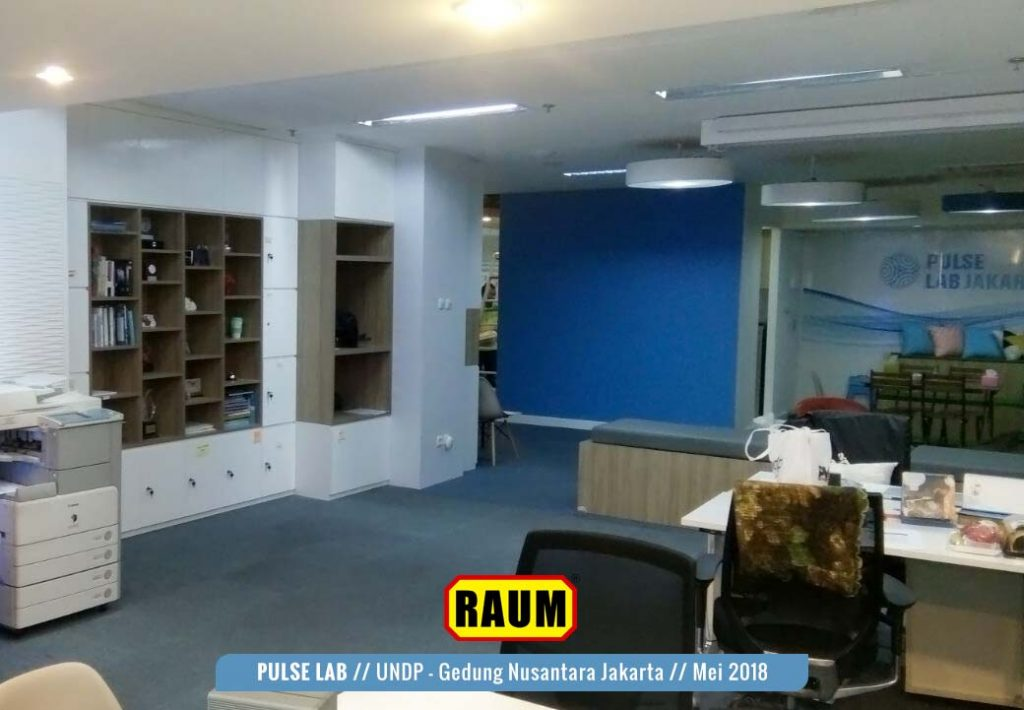 03 Pulse Lab UNDP - Gedung Nusantara Jakarta - Mei 2018 Interior Asri