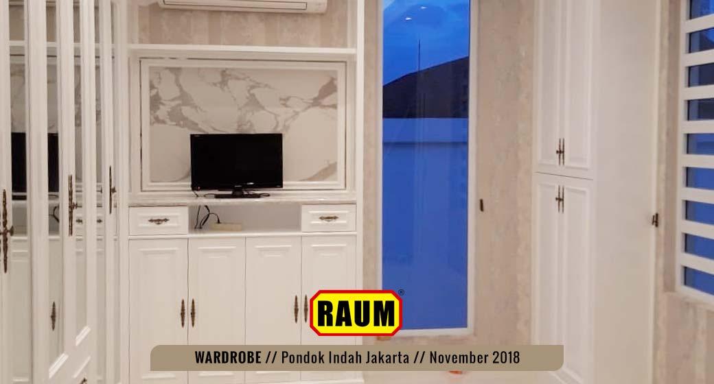 03 Wardrobe Pondok Indah by interior asri -November 2018
