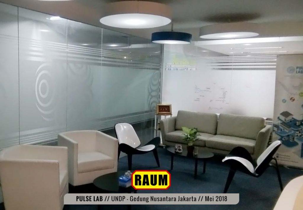 04 Pulse Lab UNDP - Gedung Nusantara Jakarta - Mei 2018 Interior Asri