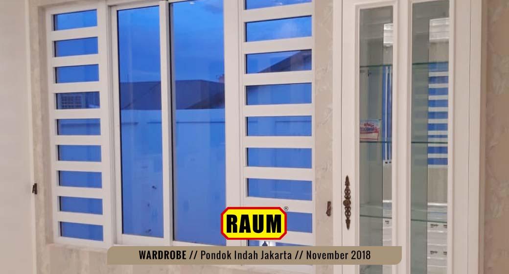 04 Wardrobe Pondok Indah by interior asri -November 2018