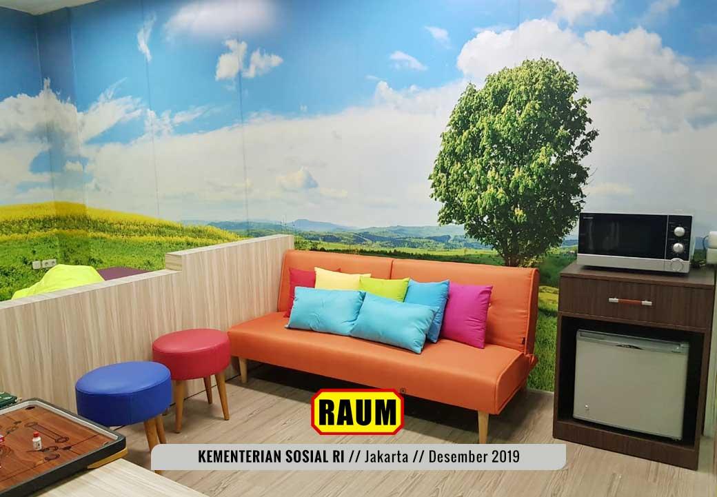 05 Kementerian Sosial Republik Indonesia Jakarta by Interior Asri - Desember 2019