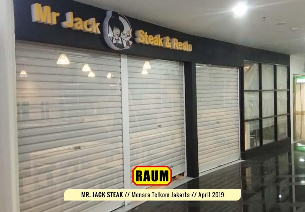 05 Mr. Jack Steak by Interior Asri - Resto Menara Telkom Jakarta - April 2019