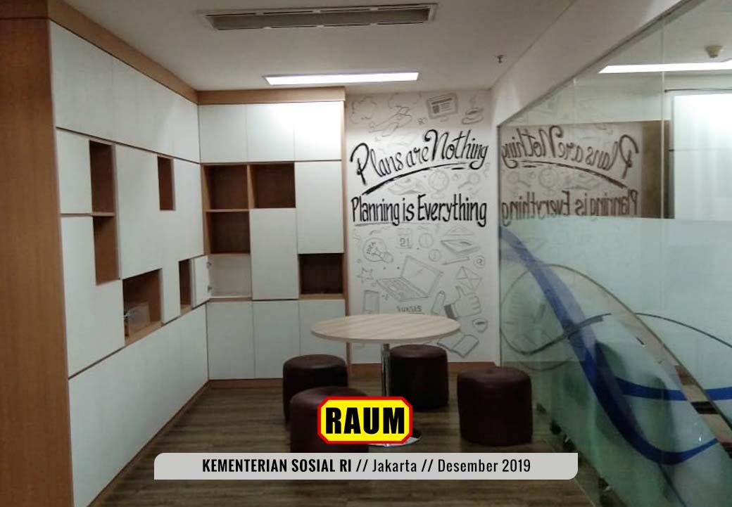 06 Kementerian Sosial Republik Indonesia Jakarta by Interior Asri - Desember 2019