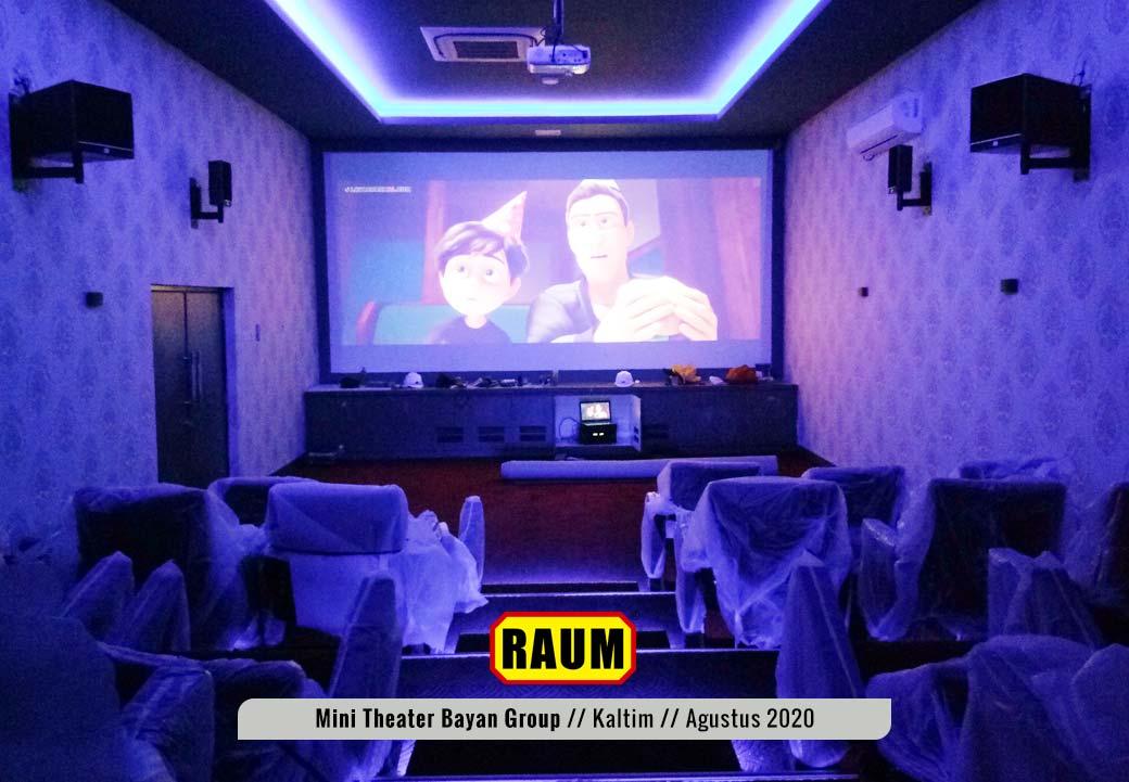 1 Museum Mini Theater - PT. Fajar Sakti Prima - Bayan Group - Tabang KalTim - Agustus 2020 - Interior Asri