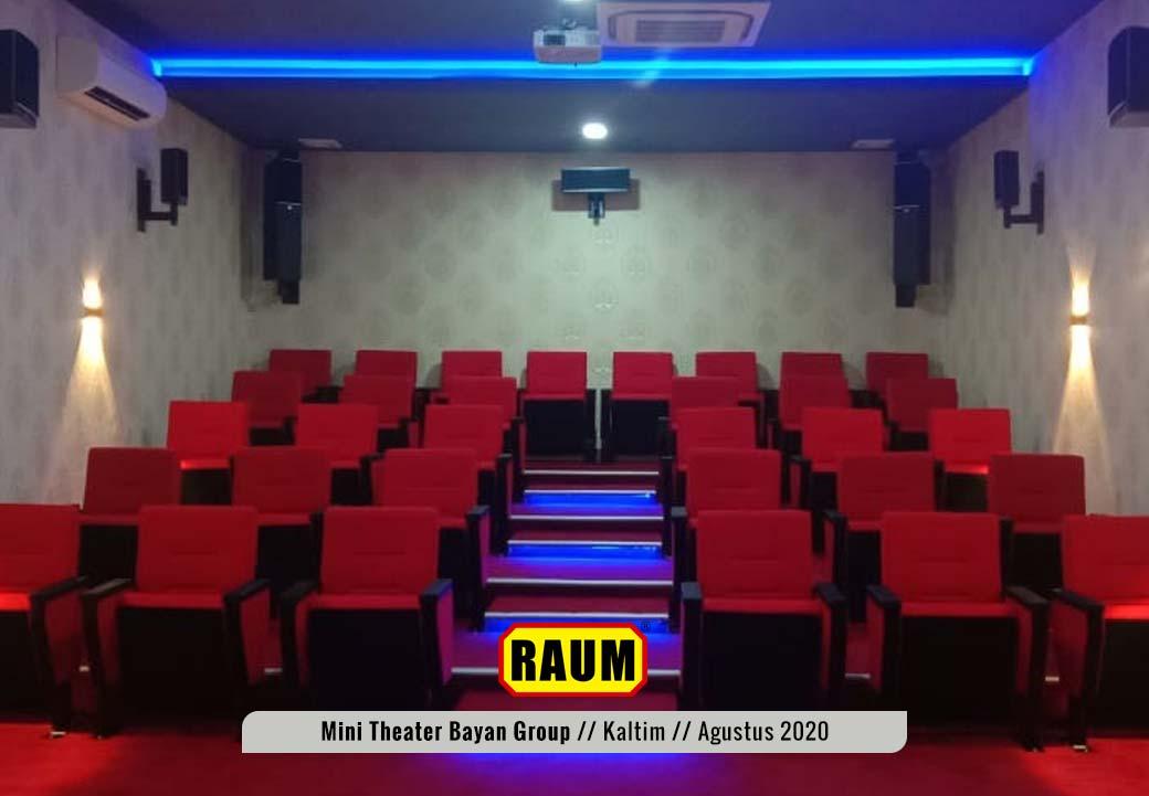 2 Museum Mini Theater - PT. Fajar Sakti Prima - Bayan Group - Tabang KalTim - Agustus 2020 - Interior Asri