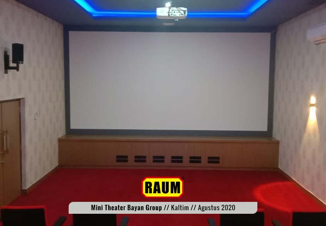 3 Museum Mini Theater - PT. Fajar Sakti Prima - Bayan Group - Tabang KalTim - Agustus 2020 - Interior Asri