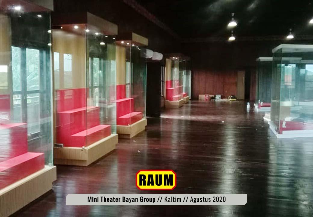 5 Museum Mini Theater - PT. Fajar Sakti Prima - Bayan Group - Tabang KalTim - Agustus 2020 - Interior Asri