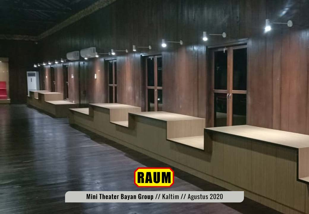 7 Museum Mini Theater - PT. Fajar Sakti Prima - Bayan Group - Tabang KalTim - Agustus 2020 - Interior Asri