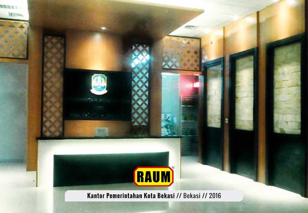01 Kantor Pemerintahan Kota Bekasi - interior asri by raum