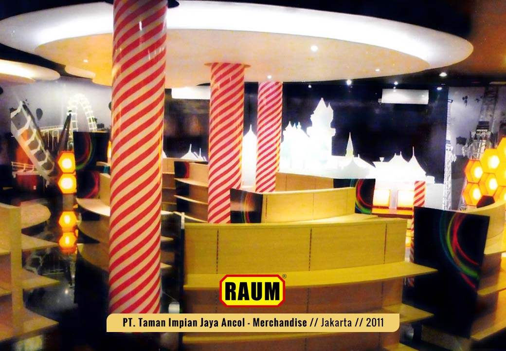01 PT. Taman Impian Jaya Ancol, Merchandise Shop Induk Dufan - interior asri by raum