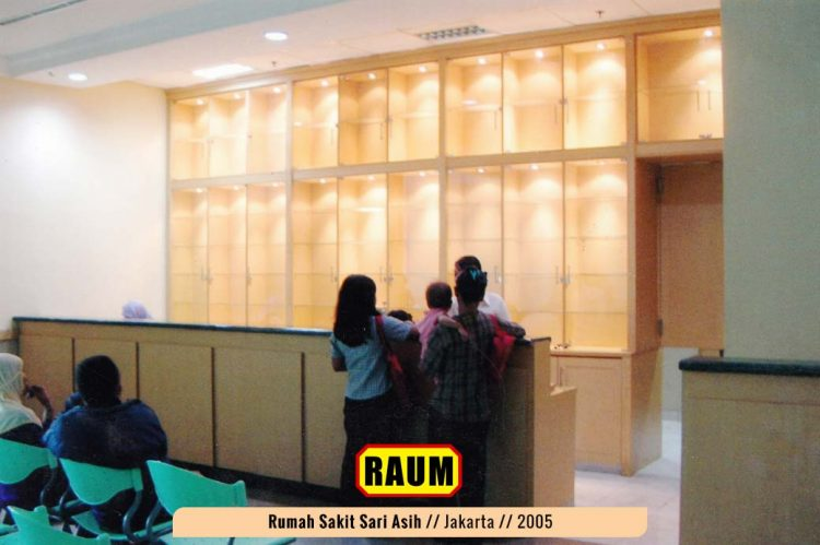 01 Rumah Sakit Sari Asih Jakarta - interior asri by raum