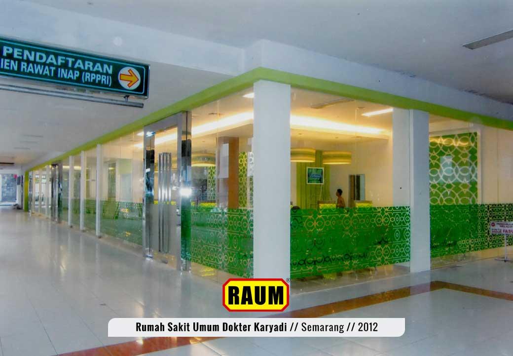 01 Rumah sakit umum dokter karyadi semarang - interior asri by raum
