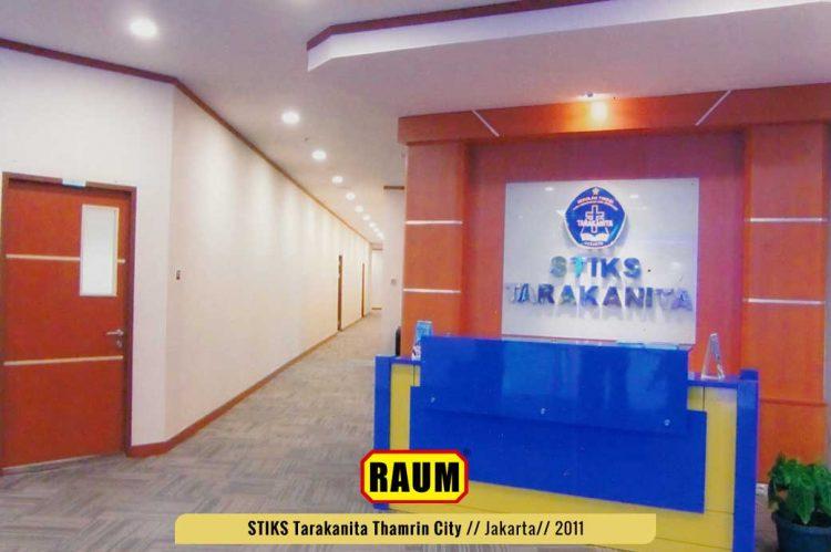 01 STIKS Tarakanita kampus thamrin city - interior asri by raum