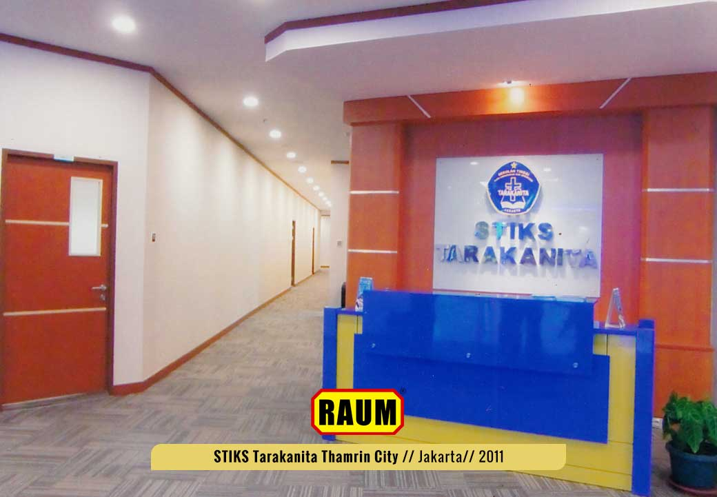 01 STIKS Tarakanita kampus thamrin city - interior asri by raum