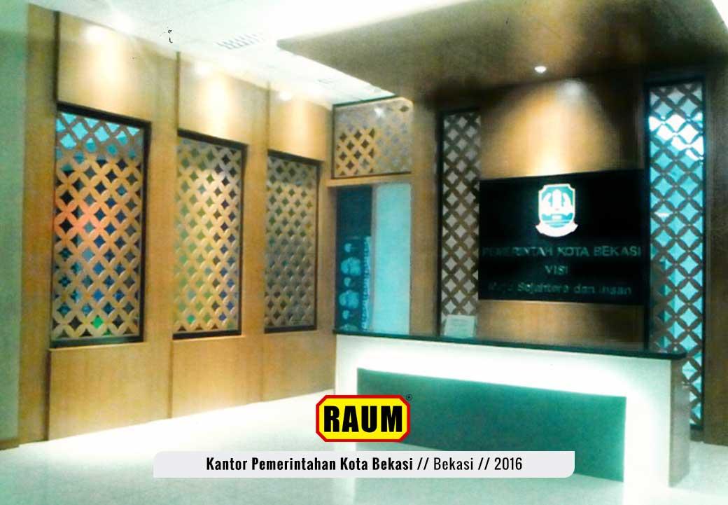 02 Kantor Pemerintahan Kota Bekasi - interior asri by raum