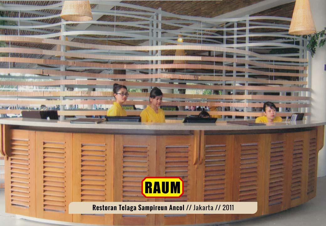 02 Restoran telaga sampireun ancol - interior asri by raum