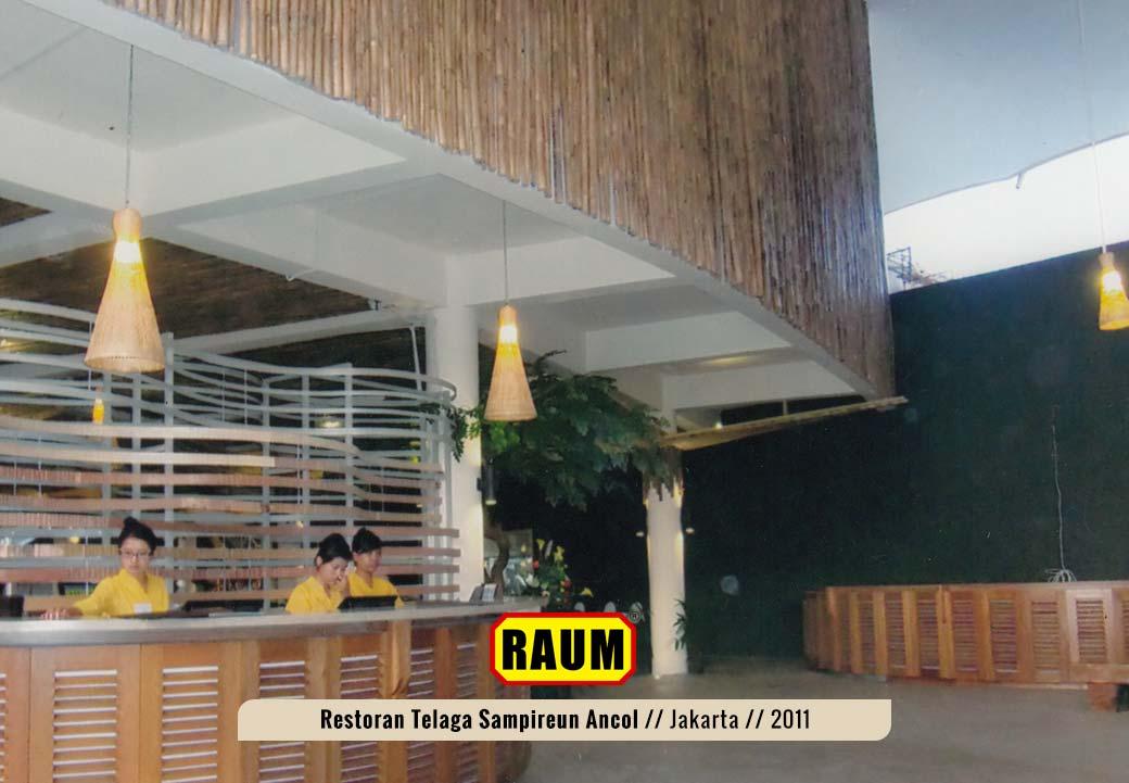 03 Restoran telaga sampireun ancol - interior asri by raum