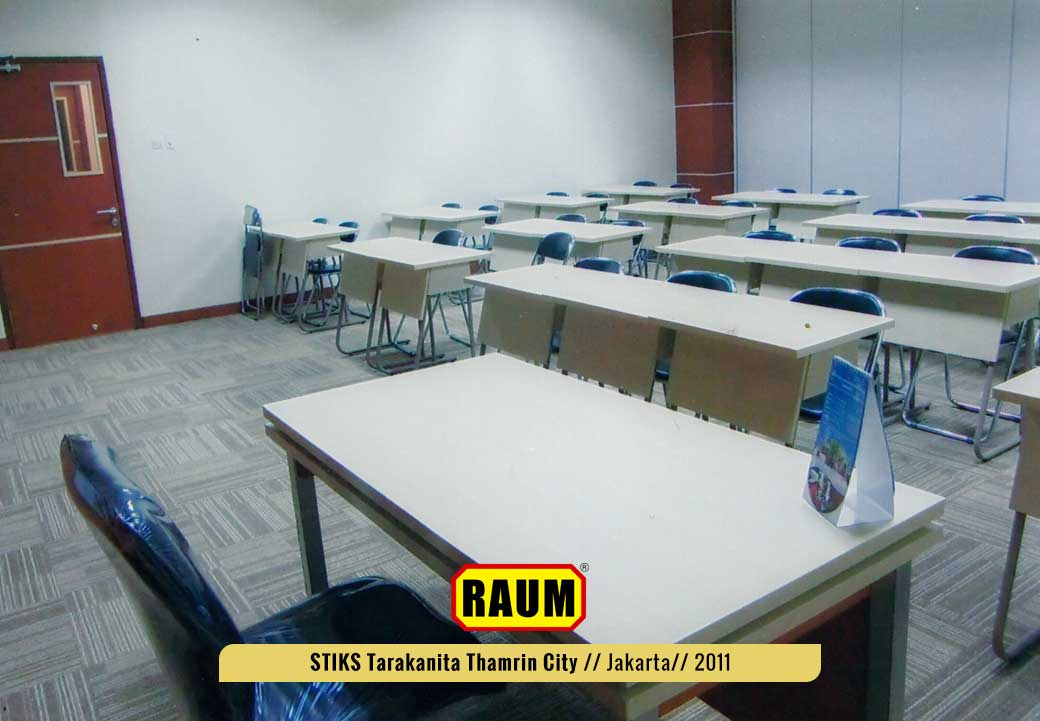 03 STIKS Tarakanita kampus thamrin city - interior asri by raum