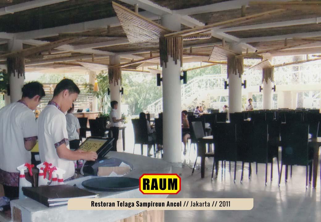 04 Restoran telaga sampireun ancol - interior asri by raum