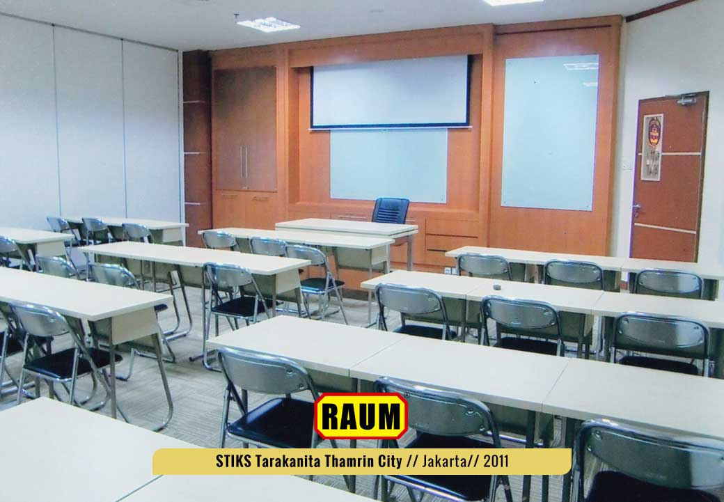 04 STIKS Tarakanita kampus thamrin city - interior asri by raum