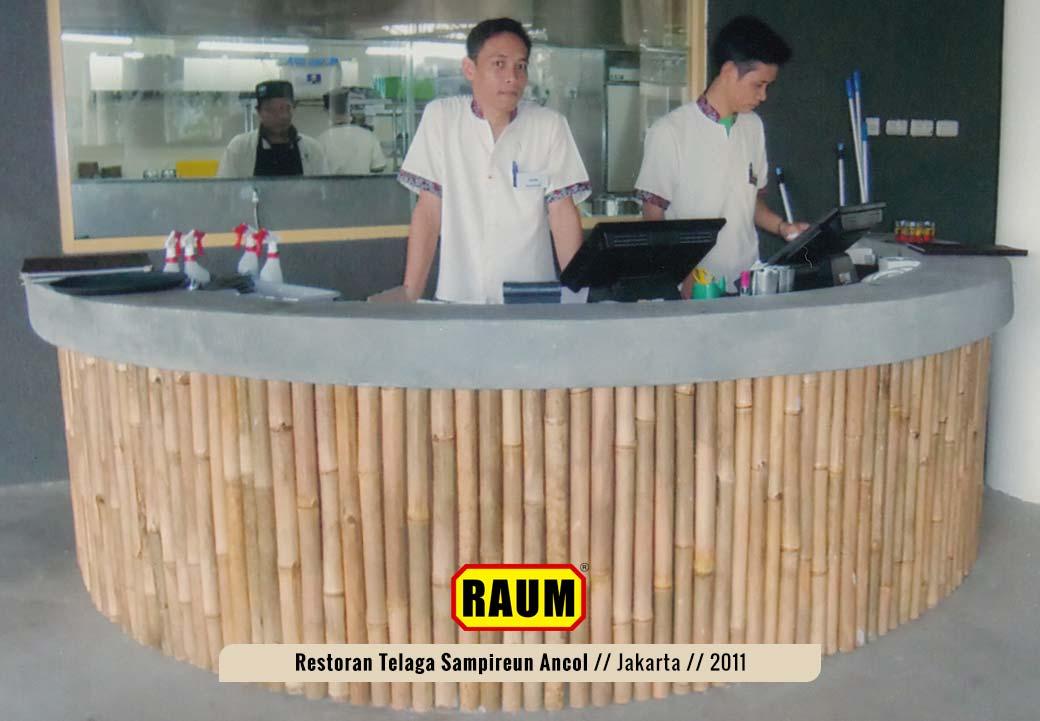 05 Restoran telaga sampireun ancol - interior asri by raum