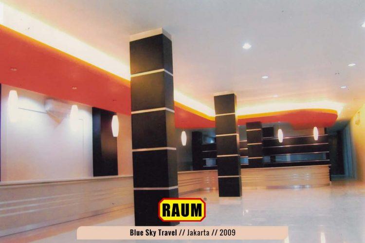 blu sky travel menteng - interior asri by RAUM